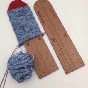 KYSO Sock Ruler